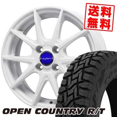 165/60R15 77Q TOYO TIRES トーヨー タイヤ OPEN COUNTRY R/T オープンカントリー R/T LeyBahn WGS レイバーン WGS サマータイヤホイール4本セット