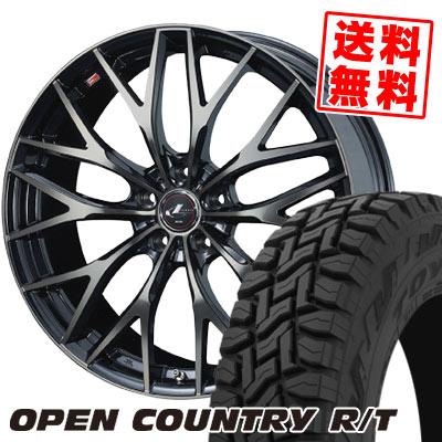 215/70R16 100Q TOYO TIRES トーヨー タイヤ OPEN COUNTRY R/T オープンカントリー R/T weds LEONIS MX ウェッズ レオニス MX サマータイヤホイール4本セット