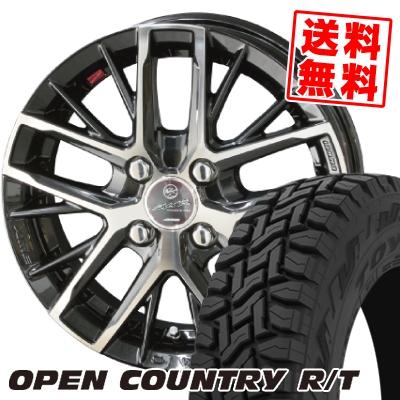 165/60R15 77Q TOYO TIRES トーヨー タイヤ OPEN COUNTRY R/T オープンカントリー R/T SMACK REVILA スマック レヴィラ サマータイヤホイール4本セット