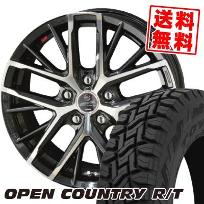 225/65R17 102Q TOYO TIRES トーヨー タイヤ OPEN COUNTRY R/T オープンカントリー R/T SMACK REVILA スマック レヴィラ サマータイヤホイール4本セット