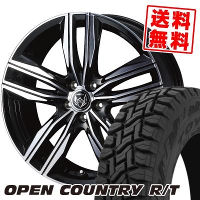 225/65R17 102Q TOYO TIRES トーヨー タイヤ OPEN COUNTRY R/T オープンカントリー R/T WEDS RIZLEY DS ウェッズ ライツレー DS サマータイヤホイール4本セット