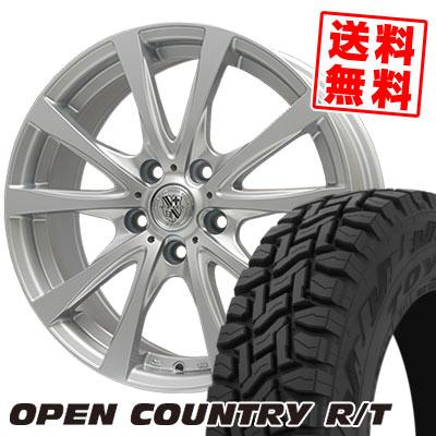 215/70R16 100Q TOYO TIRES トーヨー タイヤ OPEN COUNTRY R/T オープンカントリー R/T TRG-SILBAHN TRG シルバーン サマータイヤホイール4本セット