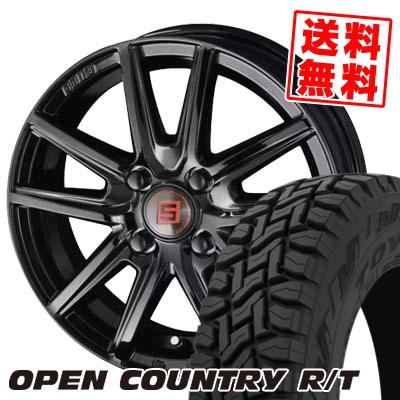 165/60R15 77Q TOYO TIRES トーヨー タイヤ OPEN COUNTRY R/T オープンカントリー R/T SEIN SS BLACK EDITION ザイン エスエス ブラックエディション サマータイヤホイール4本セット