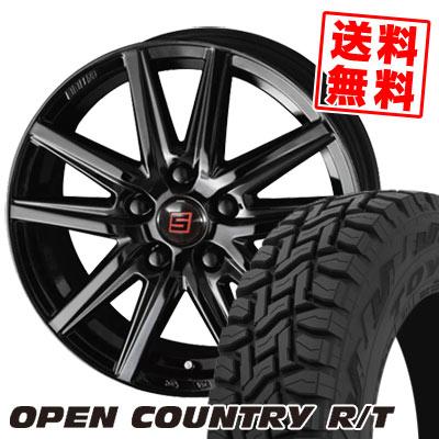 215/70R16 100Q TOYO TIRES トーヨー タイヤ OPEN COUNTRY R/T オープンカントリー R/T SEIN SS BLACK EDITION ザイン エスエス ブラックエディション サマータイヤホイール4本セット