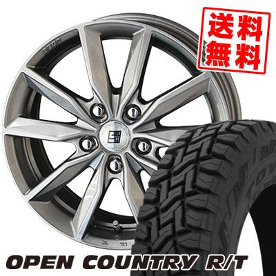 225/65R17 102Q TOYO TIRES トーヨー タイヤ OPEN COUNTRY R/T オープンカントリー R/T SEIN SV ザイン エスブイ サマータイヤホイール4本セット