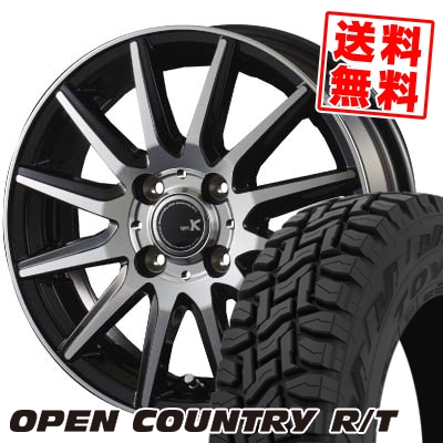 165/60R15 77Q TOYO TIRES トーヨー タイヤ OPEN COUNTRY R/T オープンカントリー R/T spec K スペックK サマータイヤホイール4本セット