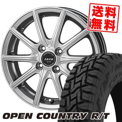 165/60R15 77Q TOYO TIRES トーヨー タイヤ OPEN COUNTRY R/T オープンカントリー R/T ZACK SPORT-01 ザック シュポルト01 サマータイヤホイール4本セット