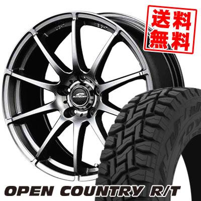 225/65R17 102Q TOYO TIRES トーヨー タイヤ OPEN COUNTRY R/T オープンカントリー R/T SCHNEDER StaG シュナイダー スタッグ サマータイヤホイール4本セット