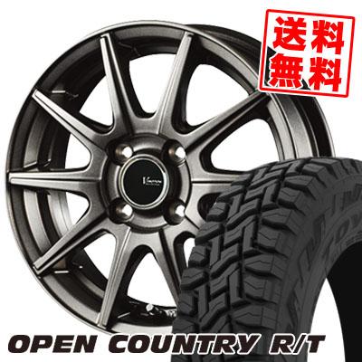 145/80R12 80/78N TOYO TIRES トーヨー タイヤ OPEN COUNTRY R/T オープンカントリー R/T V-EMOTION GS10 Vエモーション GS10 サマータイヤホイール4本セット