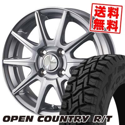 145/80R12 80/78N TOYO TIRES トーヨー タイヤ OPEN COUNTRY R/T オープンカントリー R/T V-EMOTION SR10 Vエモーション SR10 サマータイヤホイール4本セット