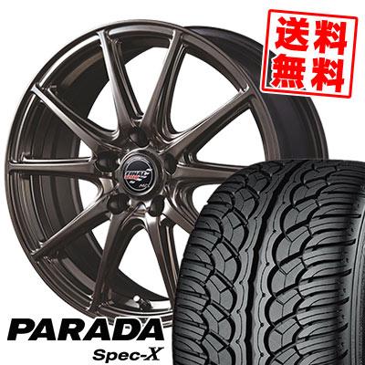 235/60R18 103V YOKOHAMA ヨコハマ PARADA SpecX PA02 パラダ スペックX PA02 FINALSPEED GR-Volt ファイナルスピード GRボルト サマータイヤホイール4本セット