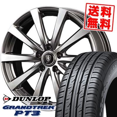 225/60R17 99V DUNLOP ダンロップ GRANDTREK PT3 グラントレック PT3 Euro Speed G10 ユーロスピード G10 サマータイヤホイール4本セット