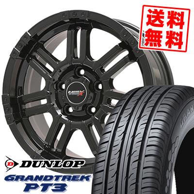225/65R17 102H DUNLOP ダンロップ GRANDTREK PT3 グラントレック PT3 B-MUD X Bマッド エックス サマータイヤホイール4本セット