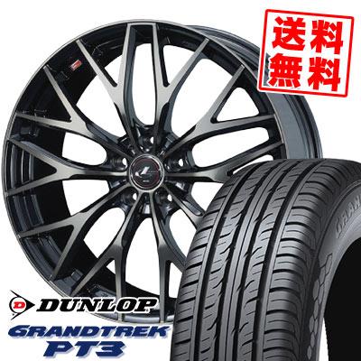 205/70R15 96H DUNLOP ダンロップ GRANDTREK PT3 グラントレック PT3 weds LEONIS MX ウェッズ レオニス MX サマータイヤホイール4本セット