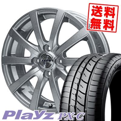 155/65R13 73S BRIDGESTONE ブリヂストン Playz PX-C プレイズ PX-C ZACK JP-110 ザック JP110 サマータイヤホイール4本セット