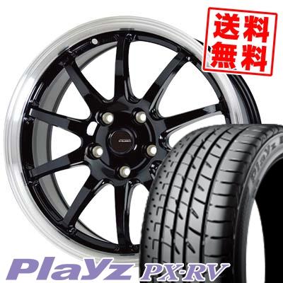 195/60R15 88H BRIDGESTONE ブリヂストン Playz PX-RV プレイズ PX-RV G.speed P-04 ジースピード P-04 サマータイヤホイール4本セット
