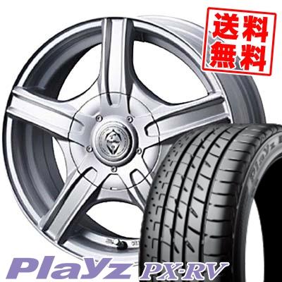 195/65R15 BRIDGESTONE ブリヂストン Playz PX-RV プレイズ PX-RV Treffer MH トレファーMH サマータイヤホイール4本セット