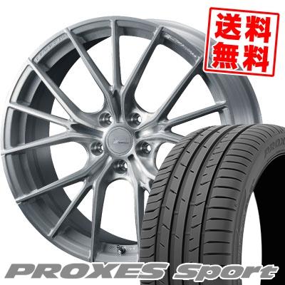 245/35R20 95Y XL TOYO TIRES トーヨー タイヤ PROXES sport プロクセス スポーツ WEDS F ZERO FZ-1 ウェッズ エフゼロ FZ-1 サマータイヤホイール4本セット