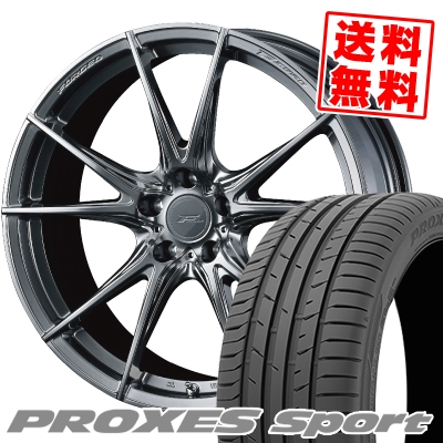 255/35R20 97Y XL TOYO TIRES トーヨー タイヤ PROXES sport プロクセス スポーツ WEDS F ZERO FZ-2 ウェッズ エフゼロ FZ-2 サマータイヤホイール4本セット