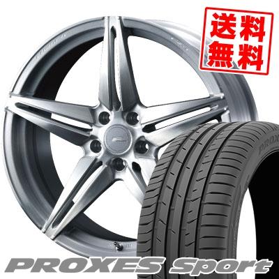 245/35R20 95Y XL TOYO TIRES トーヨー タイヤ PROXES sport プロクセス スポーツ WEDS F ZERO FZ-3 ウェッズ エフゼロ FZ-3 サマータイヤホイール4本セット