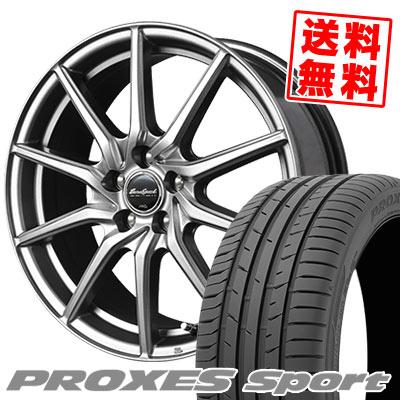 235/50R18 101Y XL TOYO TIRES トーヨー タイヤ PROXES sport プロクセス スポーツ EuroSpeed G810 ユーロスピード G810 サマータイヤホイール4本セット