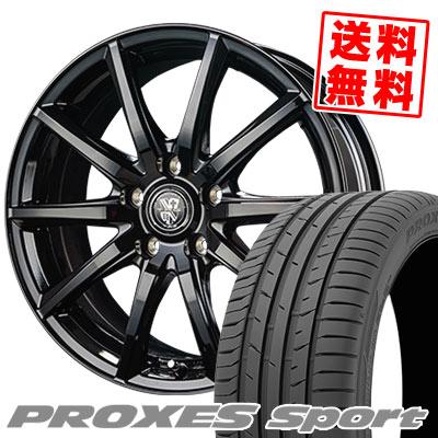 225/55R17 101Y XL TOYO TIRES トーヨー タイヤ PROXES sport プロクセス スポーツ TRG-GB10 TRG GB10 サマータイヤホイール4本セット