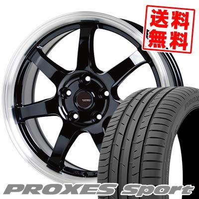 205/50R17 93Y XL TOYO TIRES トーヨー タイヤ PROXES sport プロクセス スポーツ G.speed P-03 ジースピード P-03 サマータイヤホイール4本セット