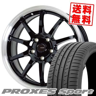 205/50R17 93Y XL TOYO TIRES トーヨー タイヤ PROXES sport プロクセス スポーツ G.speed P-04 ジースピード P-04 サマータイヤホイール4本セット