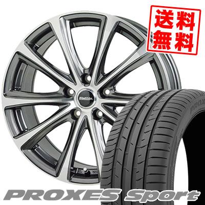 235/40R18 95Y XL TOYO TIRES トーヨー タイヤ PROXES sport プロクセス スポーツ Laffite LE-04 ラフィット LE-04 サマータイヤホイール4本セット