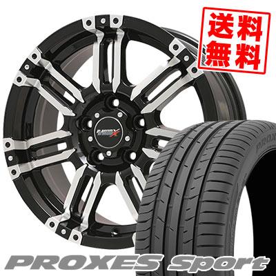 215/50R17 95W XL TOYO TIRES トーヨー タイヤ PROXES sport プロクセス スポーツ B-MUD X Bマッド エックス サマータイヤホイール4本セット