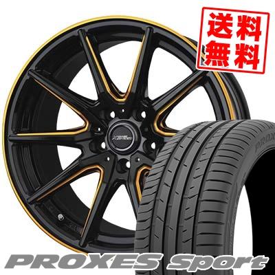 [宅送] 235/45R17 97Y XL TOYO TIRES トーヨー タイヤ PROXES sport プロクセス スポーツ CROSS SPEED PREMIUM RS10 クロススピード プレミアム RS10 サマータイヤホイール4本セット, テンエイムラ 84bdced8