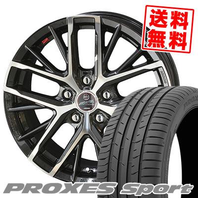 205/50R17 93Y XL TOYO TIRES トーヨー タイヤ PROXES sport プロクセス スポーツ SMACK REVILA スマック レヴィラ サマータイヤホイール4本セット