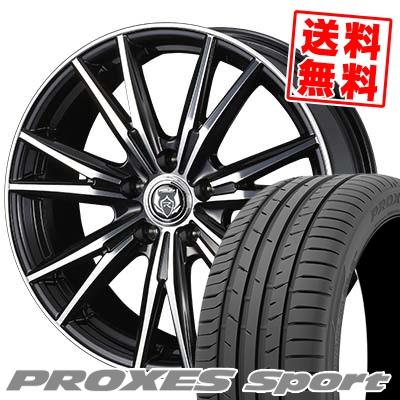 235/45R17 97Y XL TOYO TIRES トーヨー タイヤ PROXES sport プロクセス スポーツ WEDS RIZLEY DK ウェッズ ライツレーDK サマータイヤホイール4本セット