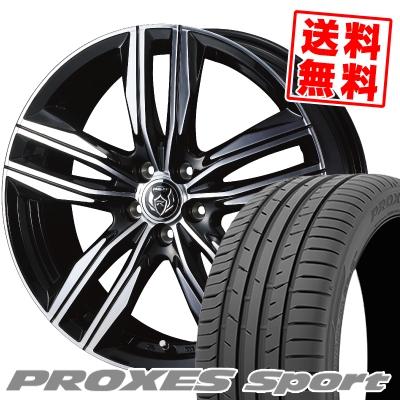 205/50R17 93Y XL TOYO TIRES トーヨー タイヤ PROXES sport プロクセス スポーツ WEDS RIZLEY DS ウェッズ ライツレー DS サマータイヤホイール4本セット