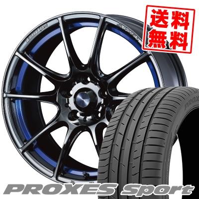 215/40R18 89Y XL TOYO TIRES トーヨー タイヤ PROXES sport プロクセス スポーツ WedsSport SA-25R ウェッズスポーツ SA-25R サマータイヤホイール4本セット