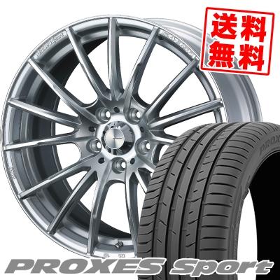 215/50R17 95W XL TOYO TIRES トーヨー タイヤ PROXES sport プロクセス スポーツ WedsSport SA-35R ウェッズスポーツ SA-35R サマータイヤホイール4本セット【取付対象】