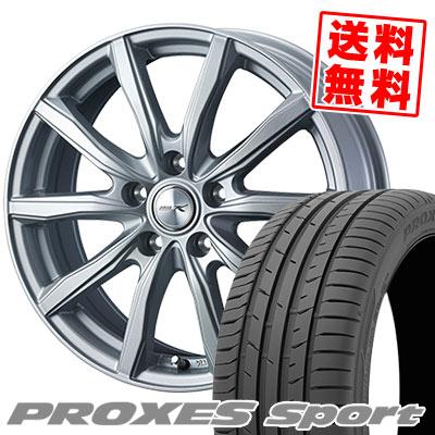 235/50R18 101Y XL TOYO TIRES トーヨー タイヤ PROXES sport プロクセス スポーツ JOKER SHAKE ジョーカー シェイク サマータイヤホイール4本セット