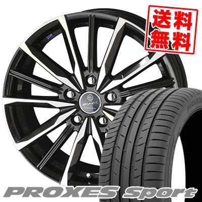 215/50R17 95W XL TOYO TIRES トーヨー タイヤ PROXES sport プロクセス スポーツ SMACK VALKYRIE スマック ヴァルキリー サマータイヤホイール4本セット