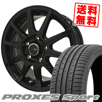 235/50R18 101Y XL TOYO TIRES トーヨー タイヤ PROXES sport プロクセス スポーツ V-EMOTION BR10 Vエモーション BR10 サマータイヤホイール4本セット