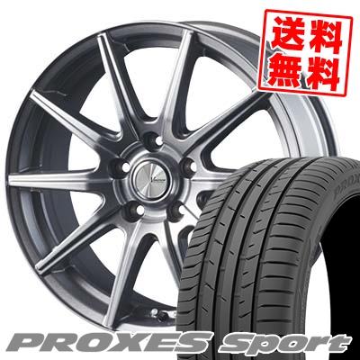 245/45R17 99Y XL TOYO TIRES トーヨー タイヤ PROXES sport プロクセス スポーツ V-EMOTION SR10 Vエモーション SR10 サマータイヤホイール4本セット