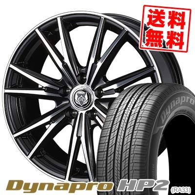 215/70R16 100H HANKOOK ハンコック Dynapro HP2 RA33 ダイナプロ HP2 WEDS RIZLEY DK ウェッズ ライツレーDK サマータイヤホイール4本セット