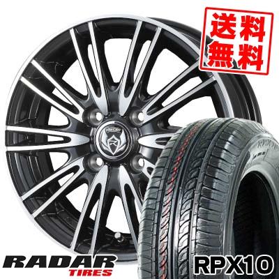 155/65R13 73T RADAR レーダー RPX10 アールピーエックス テン weds RIZLEY MA ウェッズ ライツレー エムエー サマータイヤホイール4本セット