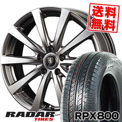205/55R16 94W XL RADAR レーダー RPX800 アールピーエックス ハッピャク Euro Speed G10 ユーロスピード G10 サマータイヤホイール4本セット