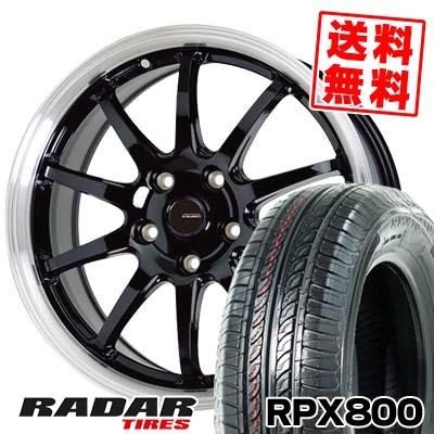 215/70R15 98T RADAR レーダー RPX800 アールピーエックス ハッピャク G.speed P-04 ジースピード P-04 サマータイヤホイール4本セット