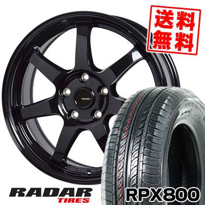 215/70R15 98T RADAR レーダー RPX800 アールピーエックス ハッピャク G.speed G-03 Gスピード G-03 サマータイヤホイール4本セット