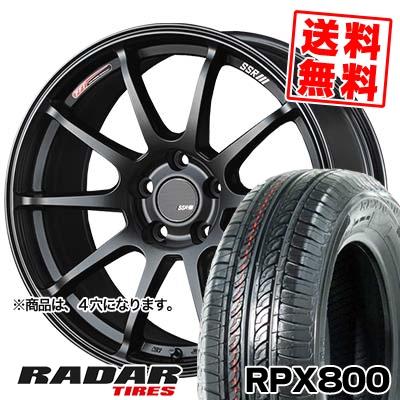 195/40R17 81W XL RADAR レーダー RPX800 アールピーエックス ハッピャク SSR GTV02 SSR GTV02 サマータイヤホイール4本セット