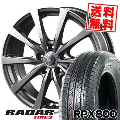 215/70R15 98T RADAR レーダー RPX800 アールピーエックス ハッピャク CLAIRE RG10 クレール RG10 サマータイヤホイール4本セット