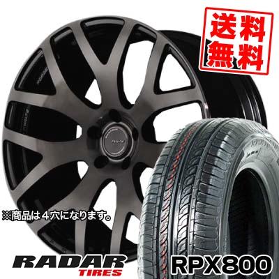 195/45R17 85W XL RADAR レーダー RPX800 アールピーエックス ハッピャク RAYS WALTZ FORGED S7 レイズ ヴァルツ フォージド S7 サマータイヤホイール4本セット