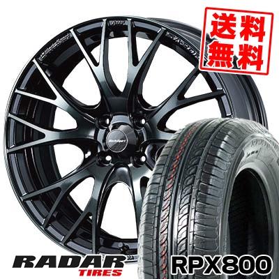 195/45R17 85W XL RADAR レーダー RPX800 アールピーエックス ハッピャク WedsSport SA-20R ウェッズスポーツ SA20R サマータイヤホイール4本セット