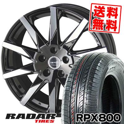 215/70R15 98T RADAR レーダー RPX800 アールピーエックス ハッピャク SMACK SFIDA スマック スフィーダ サマータイヤホイール4本セット